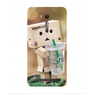 Coque De Protection Amazon Starbucks Pour Asus Zenfone Go ZB552KL