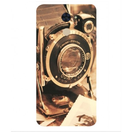 Coque De Protection Appareil Photo Vintage Pour Huawei Enjoy 7 Plus