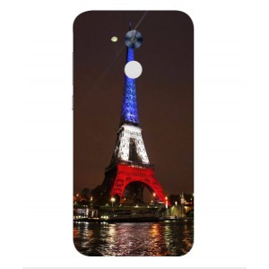 Coque De Protection Tour Eiffel Couleurs France Pour Huawei Honor 6A