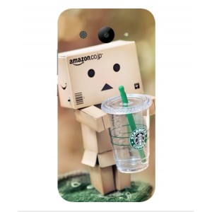 Coque De Protection Amazon Starbucks Pour Huawei Y3 (2017)