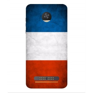 Coque De Protection Drapeau De La France Pour Motorola Moto Z2 Play