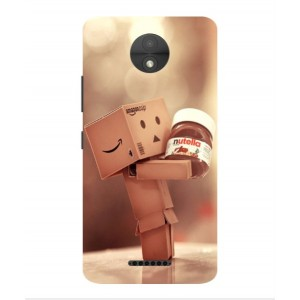 Coque De Protection Amazon Nutella Pour Motorola Moto C Plus
