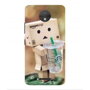 Coque De Protection Amazon Starbucks Pour Motorola Moto C Plus