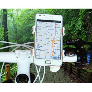 Support Fixation Guidon Vélo Pour ZTE Blade V8 Lite