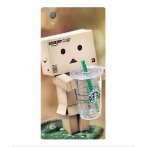 Coque De Protection Amazon Starbucks Pour Sony Xperia L1