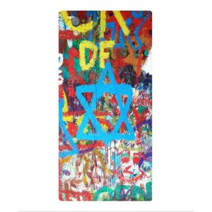 Coque De Protection Graffiti Tel-Aviv Pour Sony Xperia L1