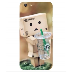 Coque De Protection Amazon Starbucks Pour Oppo F3