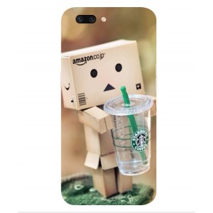 Coque De Protection Amazon Starbucks Pour Oppo R11 Plus