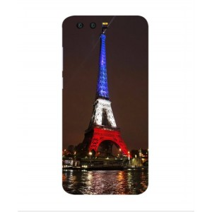 Coque De Protection Tour Eiffel Couleurs France Pour Huawei Honor 9
