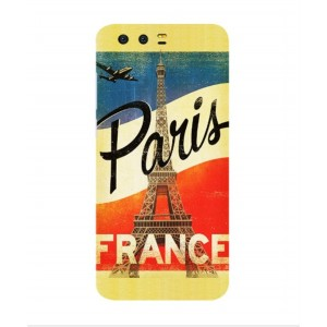 Coque De Protection Paris Vintage Pour Huawei Honor 9