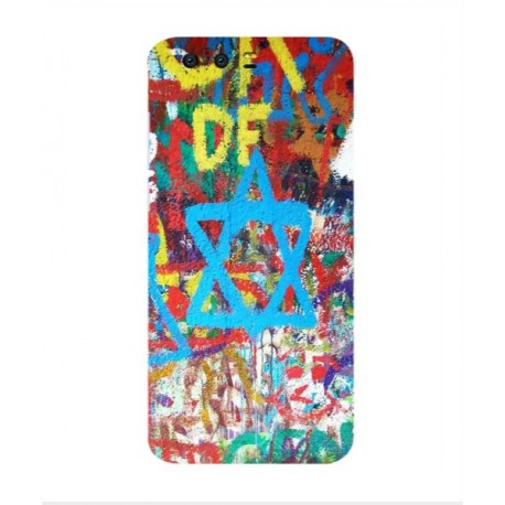 coque protection graffiti tel aviv huawei honor 9. Black Bedroom Furniture Sets. Home Design Ideas