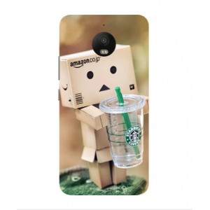 Coque De Protection Amazon Starbucks Pour Motorola Moto E4