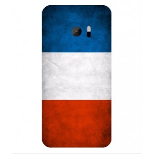 Coque De Protection Drapeau De La France Pour HTC One M10
