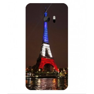 Coque De Protection Tour Eiffel Couleurs France Pour HTC One M10