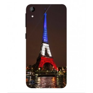 Coque De Protection Tour Eiffel Couleurs France Pour HTC Desire 530 Remix