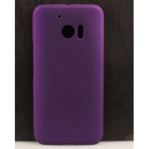 Coque De Protection Rigide Violet Pour HTC One M10
