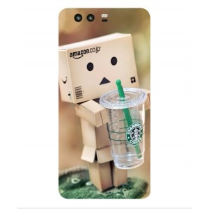 Coque De Protection Amazon Starbucks Pour Huawei P10