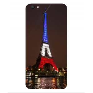 Coque De Protection Tour Eiffel Couleurs France Pour Vivo Y67