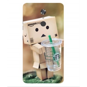 Coque De Protection Amazon Starbucks Pour ZTE Max XL