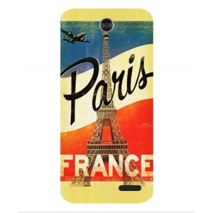 Coque De Protection Paris Vintage Pour ZTE Grand X3