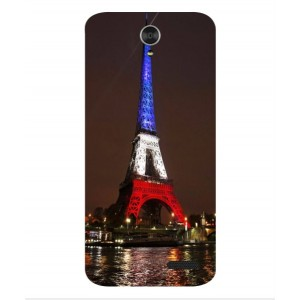 Coque De Protection Tour Eiffel Couleurs France Pour ZTE Grand X3