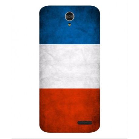 Coque De Protection Drapeau De La France Pour ZTE Grand X3