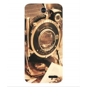 Coque De Protection Appareil Photo Vintage Pour ZTE Grand X3