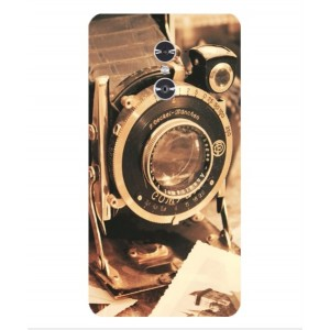 Coque De Protection Appareil Photo Vintage Pour ZTE Grand X Max 2