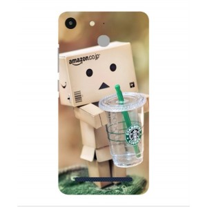 Coque De Protection Amazon Starbucks Pour Archos 50f Helium