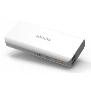 Batterie De Secours Power Bank 10400mAh Pour Archos 55 Graphite