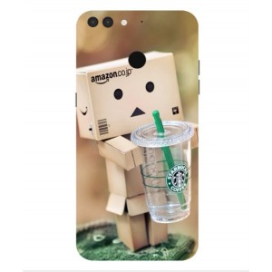 Coque De Protection Amazon Starbucks Pour Archos 55 Graphite