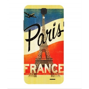 Coque De Protection Paris Vintage Pour Archos 55 Helium 4 Seasons