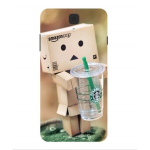 Coque De Protection Amazon Starbucks Pour Archos 55 Helium 4 Seasons