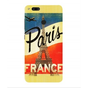 Coque De Protection Paris Vintage Pour Archos Diamond Alpha