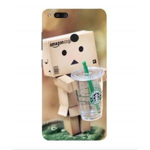 Coque De Protection Amazon Starbucks Pour Archos Diamond Alpha