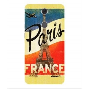 Coque De Protection Paris Vintage Pour ZTE Grand X 4