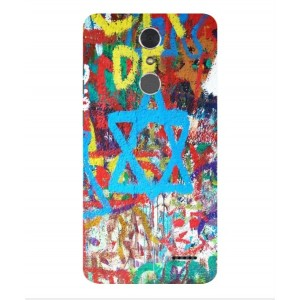 Coque De Protection Graffiti Tel-Aviv Pour ZTE Grand X 4