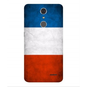 Coque De Protection Drapeau De La France Pour ZTE Grand X 4