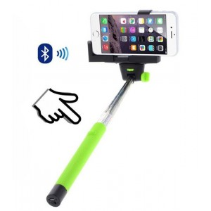 Perche à Selfie Bluetooth Vert Pour param_selected_subcategory