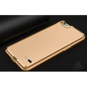 Coque Rechargeable Pour Oppo R9s - Couleur Or