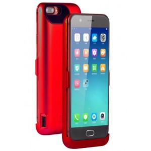 Coque Batterie Pour Oppo R11 - Rouge