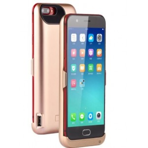 Coque Rechargeable Pour Oppo R11 - Couleur Or