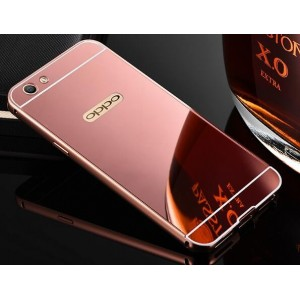 Protection Bumper Rose Pour Oppo R9s