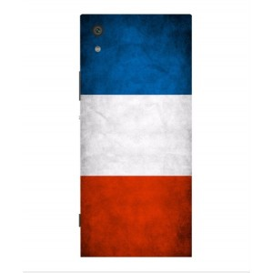 Coque De Protection Drapeau De La France Pour Sony Xperia XA1 Ultra