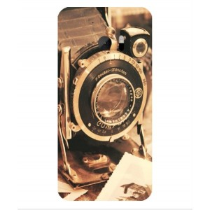 Coque De Protection Appareil Photo Vintage Pour HTC One M10