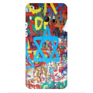 Coque De Protection Graffiti Tel-Aviv Pour HTC One M10