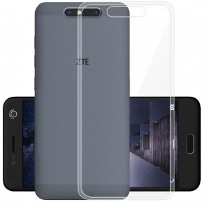 Coque De Protection En Silicone Transparent Pour ZTE Blade V8