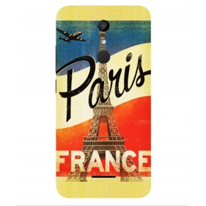 Coque De Protection Paris Vintage Pour Wiko UPulse Lite