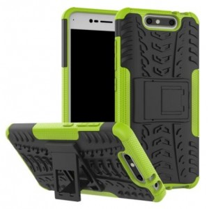 Protection Antichoc Type Otterbox Vert Pour ZTE Blade V8
