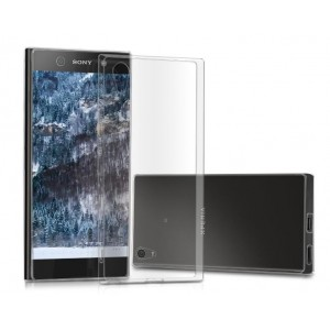 Coque De Protection En Silicone Transparent Pour Sony Xperia XA1 Ultra